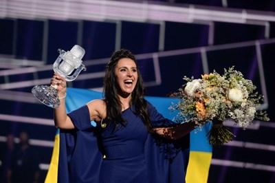 Украйна получи правото да бъде домакин на Евровизия 2017 след победата на певицата Джамала  през 2016. Снимка: Reuters