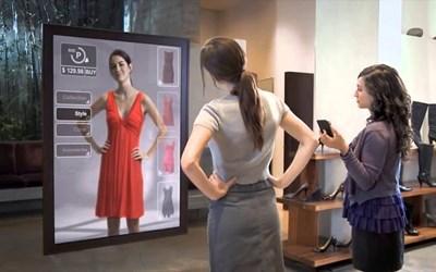 Камери и сензори правят виртуален образ на тялото и позволяват изпробване на дрехи без събличане.