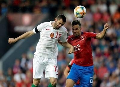 За домакинския мач с Чехия на 17 ноември сме наказани с 3000 места по-малко. Снимка: PОЙТЕРС