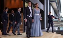 Виж Десислава Радева в копринена рокля на интронизацията на японския император (видео)