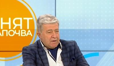 """Проф. Генчо Начев, директор на УМБАЛ """"Св. Екатерина"""" КАДЪР: БНТ"""