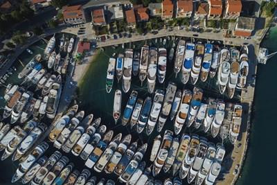 Лодки в Хърватия Снимка: Ройтерс