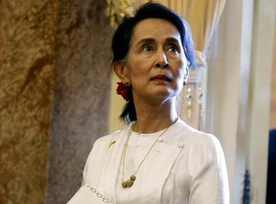 Аун Сан Су Чжи  СНИМКА: Ройтерс