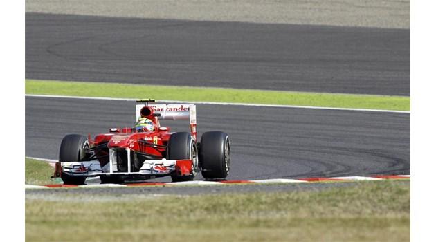 """""""Ферари"""" тайно тества колата си за догодина"""