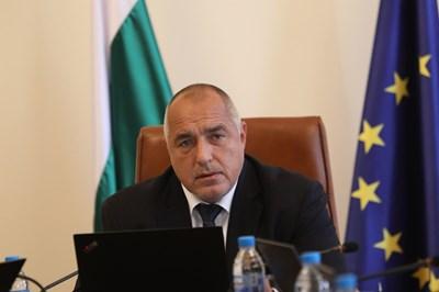 Премиерът Бойко Борисов бе категоричен, че няма Национална стратегия за детето 2019 -2030 г. СНИМКА: Йордан Симeонов