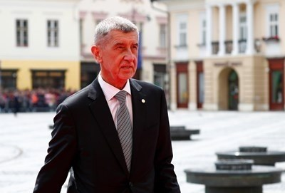 Премиерът на Чехия Андрей Бабиш СНИМКА: Ройтерс