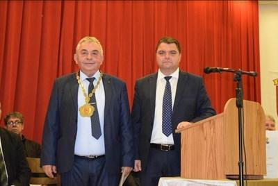 Славей Костодинов (вляво) и Росен Белчев Снимки: Авторът