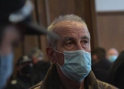 Иван Илиев в съда. Снимка ЙОРДАН СИМЕОНОВ
