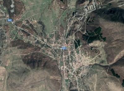 Сливенското село Сотиря  СНИМКА: Гугъл мапс