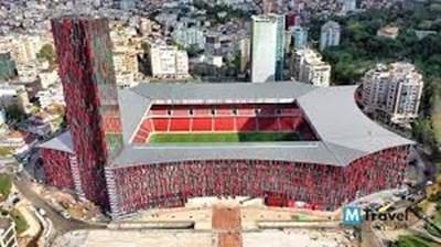 Мачът трябва да се игра на новия стадион в Тирана.