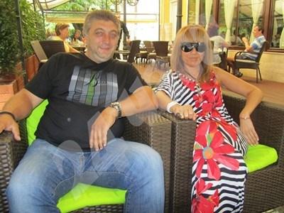 Трифон Иванов и приятелката му Валя Панова СНИМКА: 24 часа