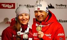 Великият Бьорндален ще се промъкне на олимпиадата покрай женичката си