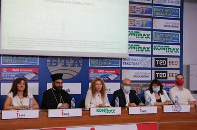 Заместник-министърът на регионалното развитие и благоустройството и ръководител на Управляващия орган на ОПРР Деница Николова по време на представянето на проекта. Снимка регионално министерство