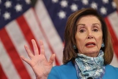 Председателката на Камарата на представителите на американския Конгрес Нанси Пелоси СНИМКИ: Ройтерс