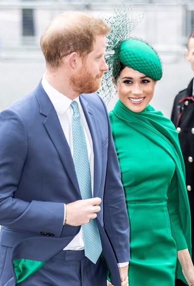 Британският принц Хари и съпругата му Меган Маркъл СНИМКА: РОЙТЕРС