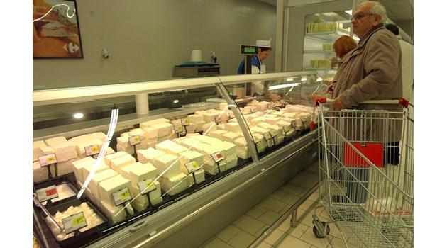 В кашкавала, маслото и сиренето: много трансмазнини, брашна, лепила и Е-та