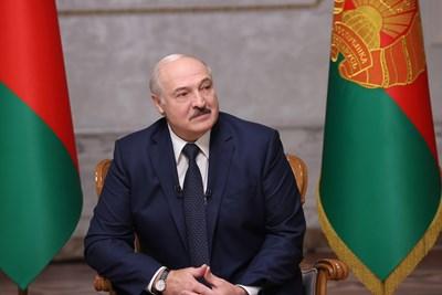 Беларуският лидер Александър Лукашенко  СНИМКА: РОЙТЕРС
