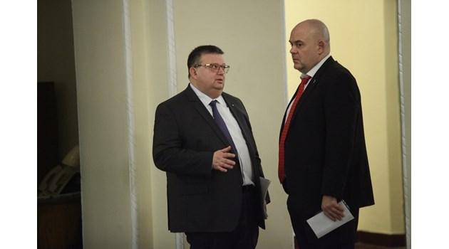 Цацаров: Не може  да има втори кандидат за главен прокурор сега (Обзор)