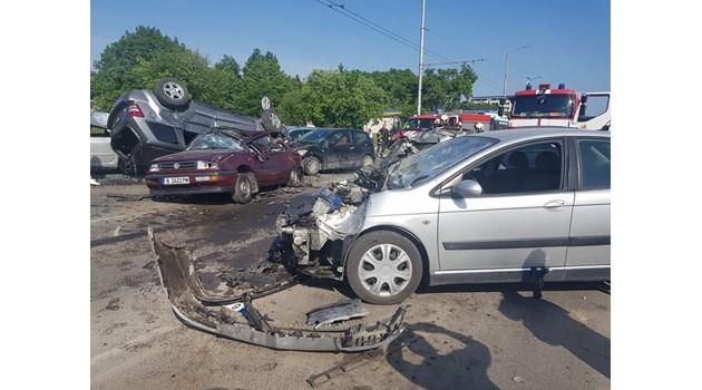 43-годишна варненка с джип предизвикала мелето с 6 коли