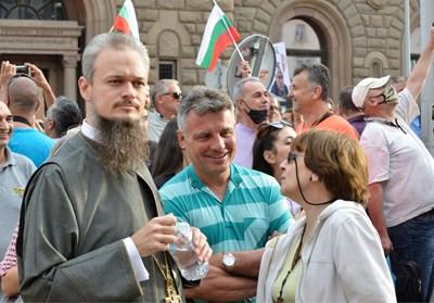 Дионисий с Ренета Инджова на протеста