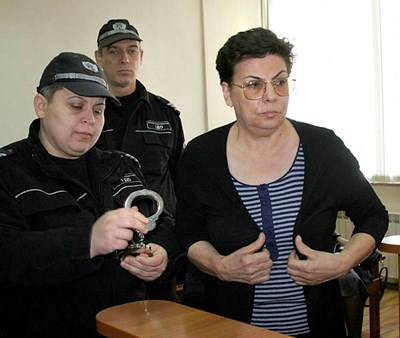 Точно преди година Иванка Ройдова беше арестувана, а след това съдът я пусна. Снимки: Наташа Манева
