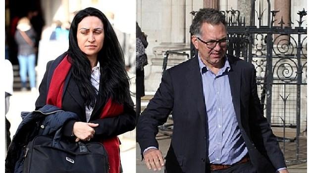 Британецът, осъдил българка да му върне 182 000 паунда, бил луд по нея. Целували се постоянно