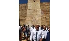 Борисов изумен от 20-метровата антична кула в Маноле: Това е световен обект