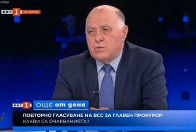 Боян Магдалинчев. Кадър БНТ