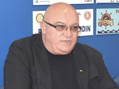 Кметът на Видин д-р Цветан Ценков.