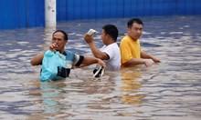 Тежките наводнения в Китай