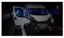 Бус с осем българи катастрофира в Италия. Шофьорът заспал и се блъснал с тир
