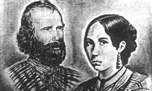 Българин измъква от битка жената на легендарния Джузепе Гарибалди