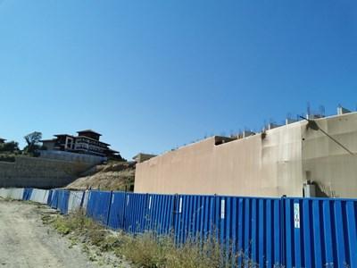 """""""Подпорната стена"""" на Алепу се изграждала в отклонение ан строителните книжа."""