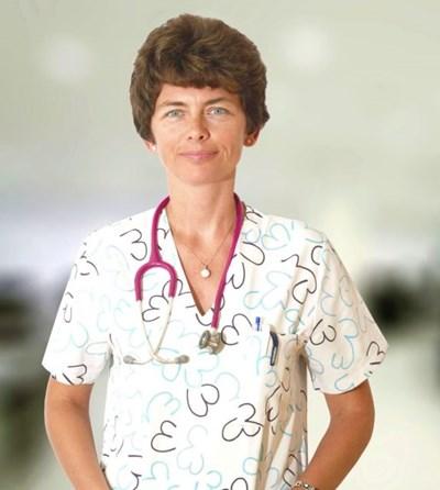 На снимката: д-р Рада Маркова, педиатър и детски пулмолог