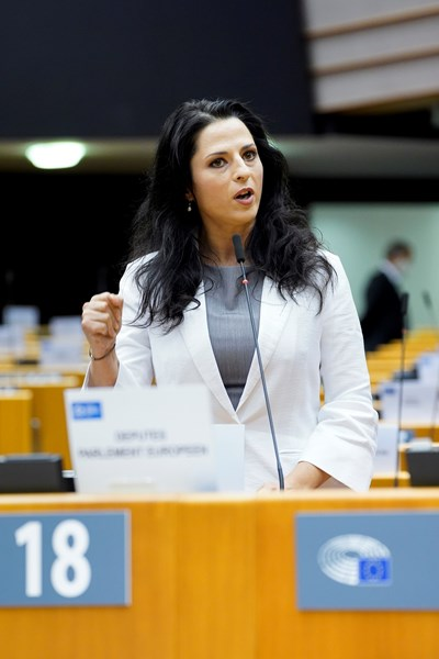 РАМОНА СТРУГАРИУ   СНИМКА: Европейски парламент