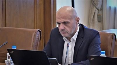 Томислав Дончев. Снимка и видео правителствена пресслужба