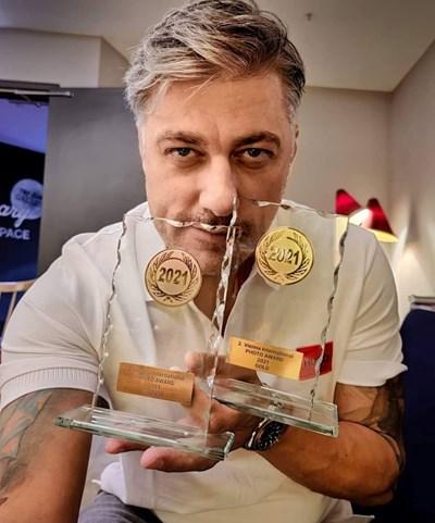 Владо Карамазов пак с награда от Виена