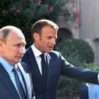 Владимир Путин и Еманюел Макрон СНИМКА: РОЙТЕРС
