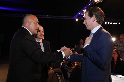 Борисов покани Себастиан Курц в България