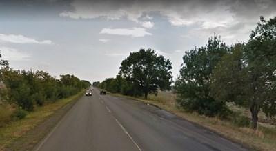 Пътят Айтос - Съдиево СНИМКА: Google Street View