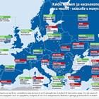 Кой с каквое най-добърсред 83 града в Европа