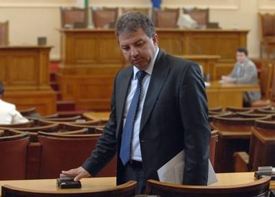 Депутатът от НФСБ и председател на парламентарната комисия за борба с корупцията Борис Ячев СНИМКА: АРХИВ