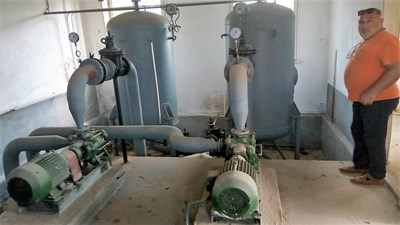 Започнаха прегледи и проби на съоръженията в обекта СНИМКА: Община Велико Търново