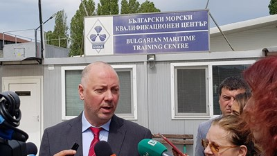 Министър Росен Желязков  СНИМКА: Авторката