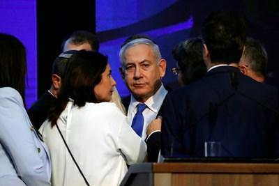 Бенямин Нетаняху Снимка: Ройтерс