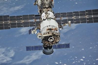 Международната космическа станция СНИМКА: РОЙТЕРС