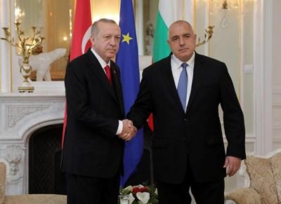 Турският президент Реджеп Ердоган е поканил Бойко Борисов да участва в церемонията по откриването на газопровода.