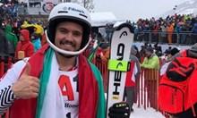 Алберт Попов 18-и след първия манш във Венген