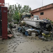 Наводнения заляха района на сицилианския град Катания