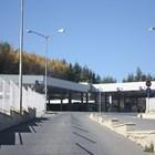 """Граничният пропускателен пункт """"Гюешево"""" откъм България.  Снимка: Уикипедия"""